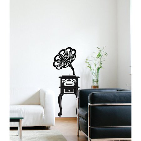 ADZif Spot Phonograph Wall Decal