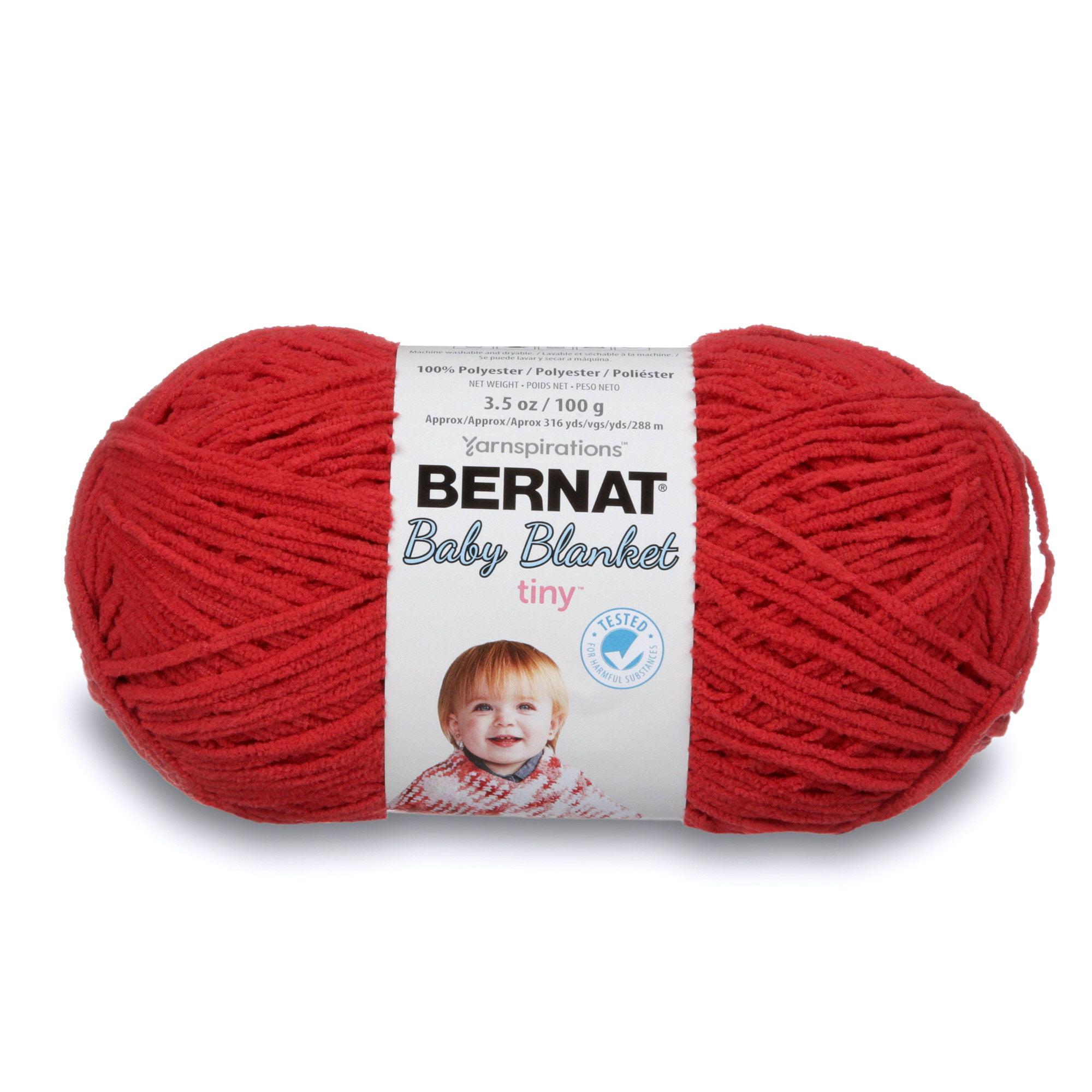 Bernat Baby Blanket Tiny Yarn-Red Barn