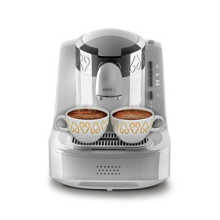 Arzum Okka OK002W Automatic Coffee Machine, Turkish/Greek Coffee