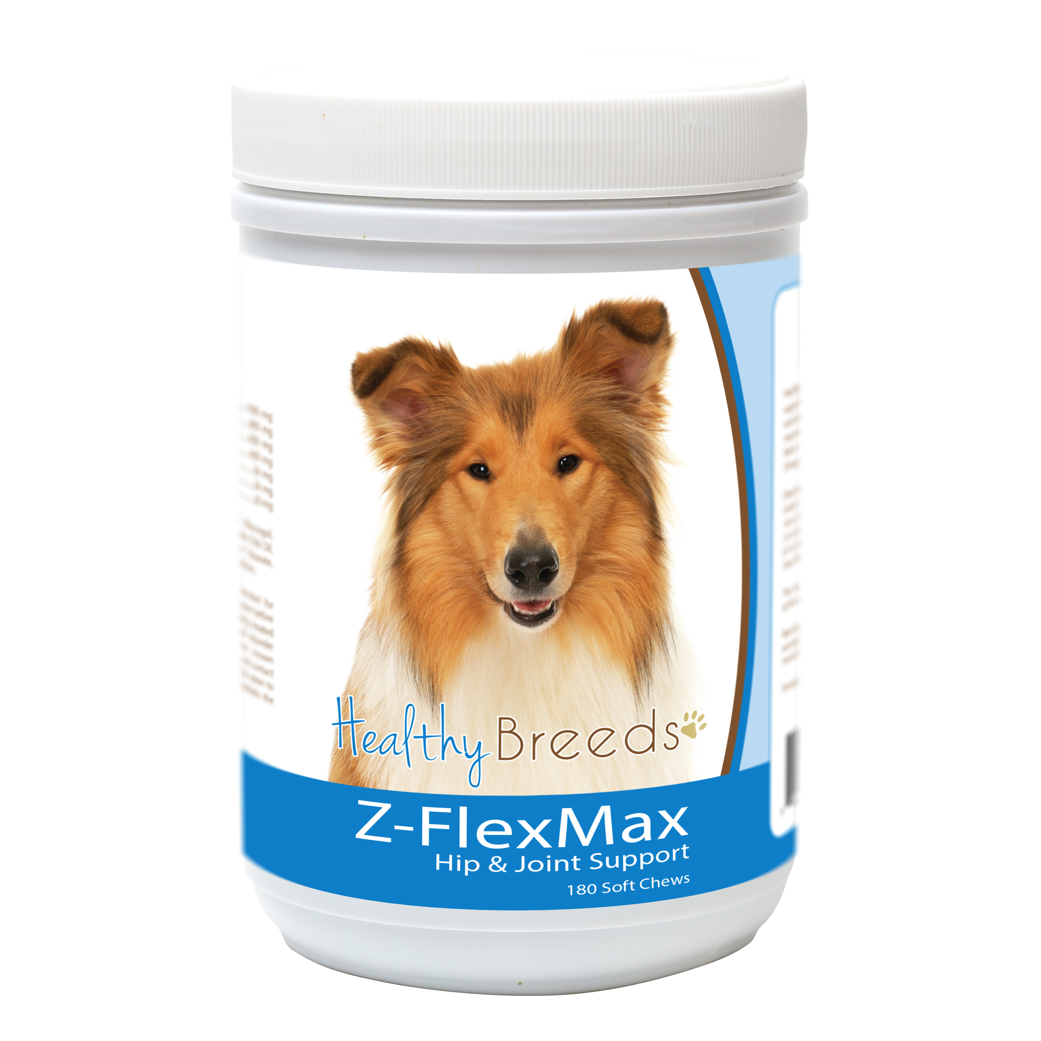 Healthy Breeds Collie Z-Flex Max Dog Hip and Joint Support 180 Count