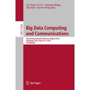 Big Data Computing and Communications - eBook