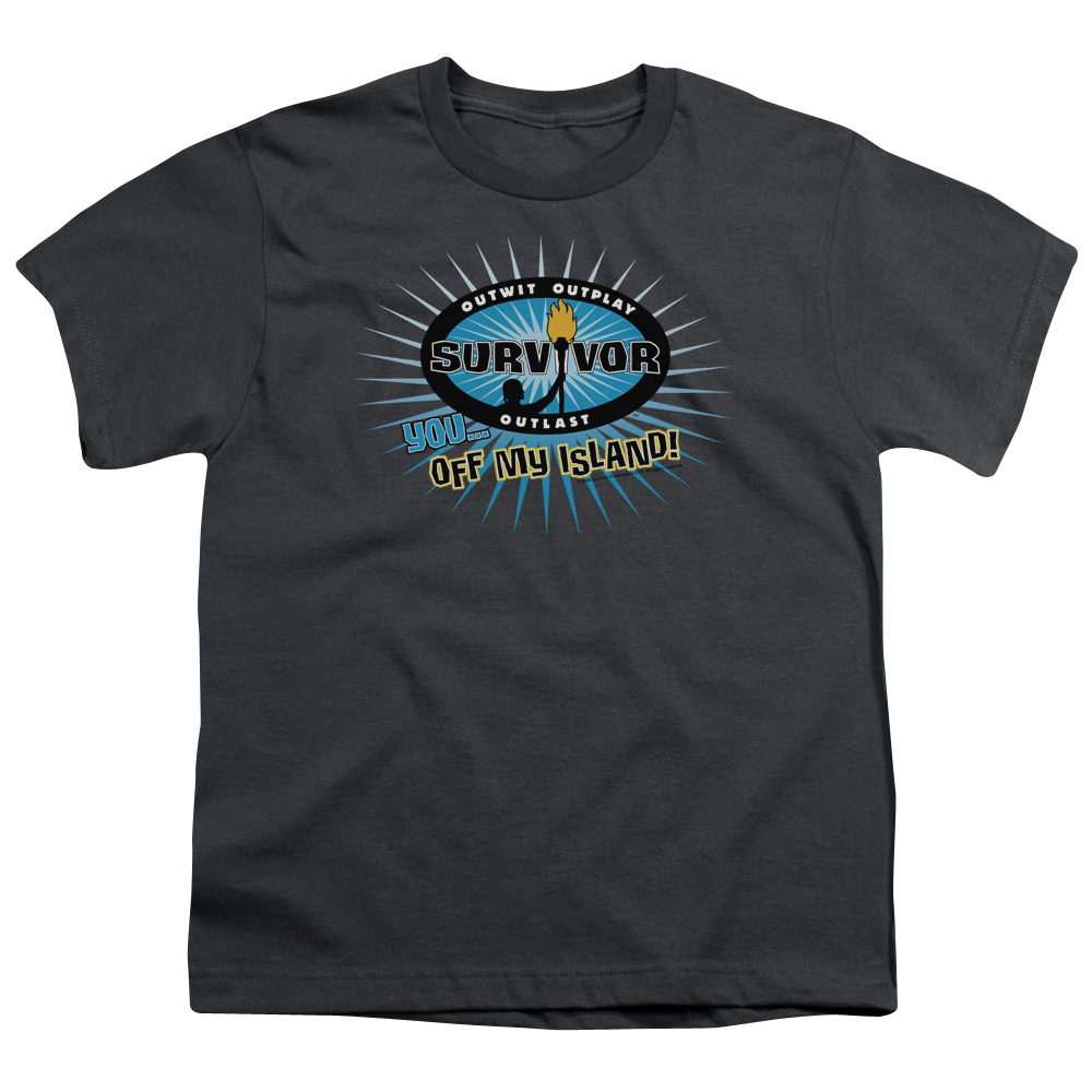 Survivor Off My Island Big Boys Shirt