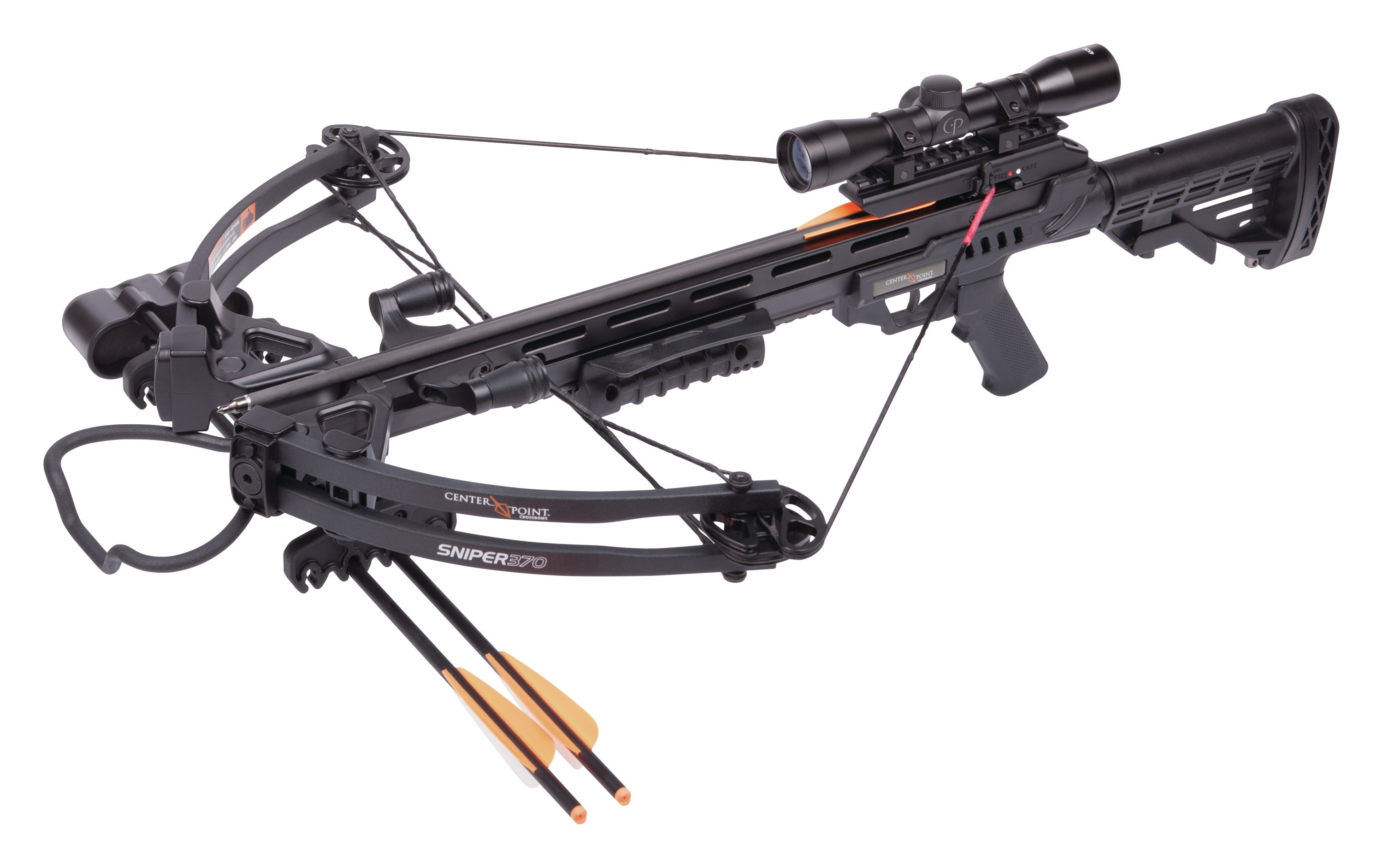 CenterPoint Sniper AXCS185BK Compound Crossbow with 4x32mm Scope, RCD by CenterPoint