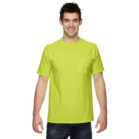 3931 Fruit (Fruit of the Loom-5 oz-100% Heavy Cotton HD Pocket T-Shirt-3931P )
