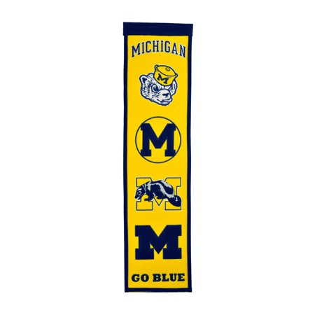 Winning Streak - NCAA Fan Favorite Banner, Michigan Wolverines - Michigan Wolverines Banner