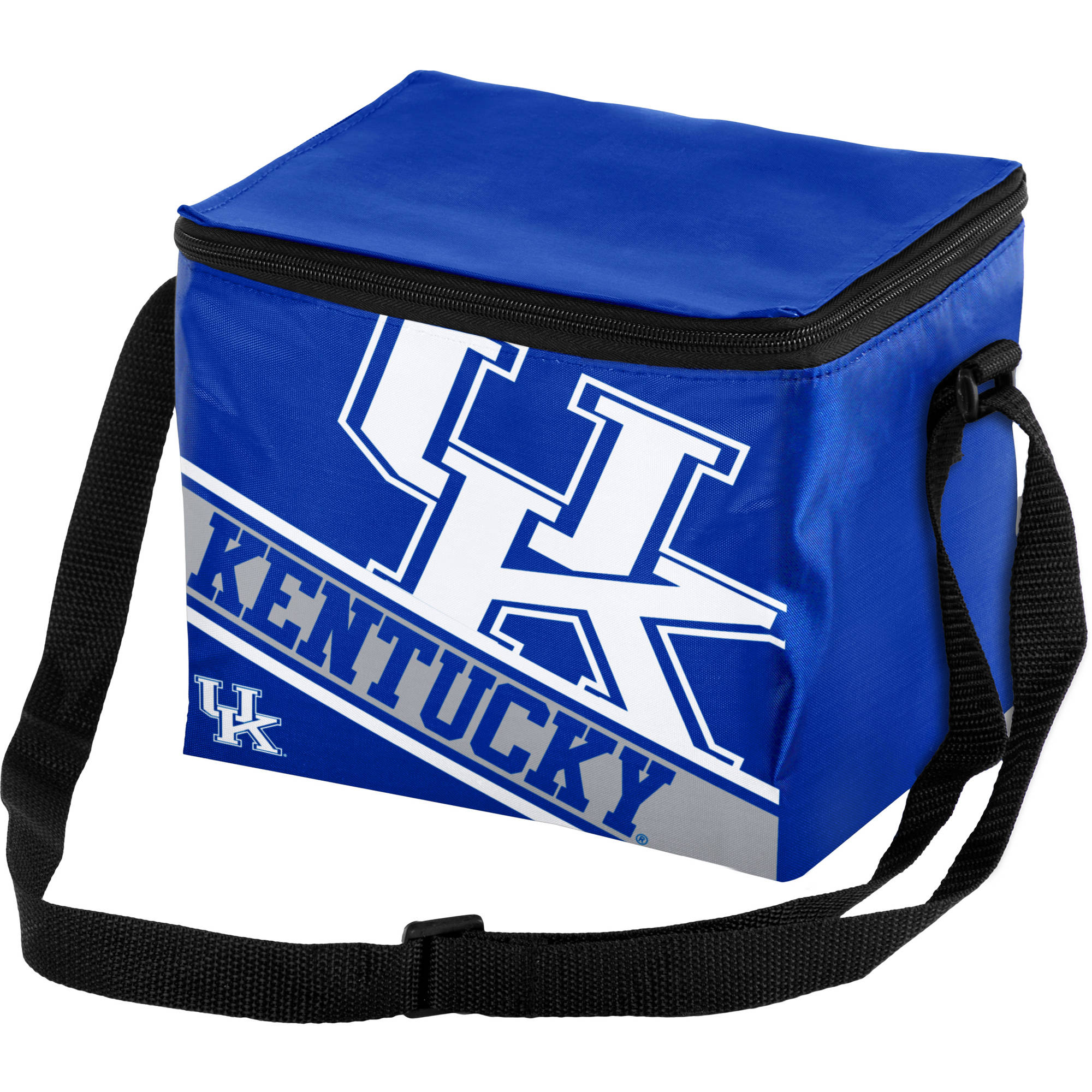 Forever Collectibles Big Logo Stripe 6 Pack Cooler, University of Kentucky Wildcats