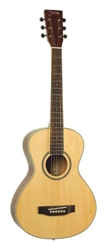 Johnson JG-TR15 Trailblazer Deluxe Travel Guitar Multi-Colored by JOHNSON & JOHNSON
