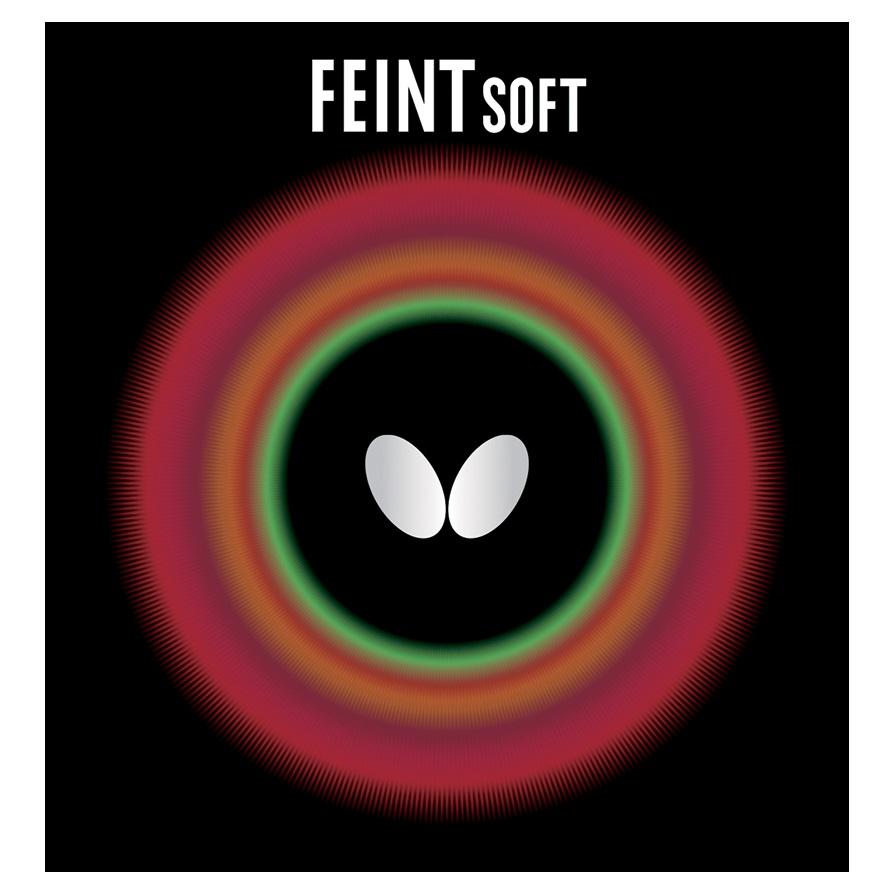 Butterfly Table Tennis Rubber - Feint Soft 1.5 Black