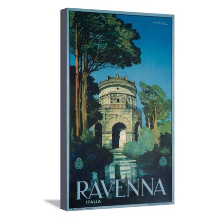 Ravenna poster stretched canvas print wall art by attilio for Ravaglia arredamenti ravenna