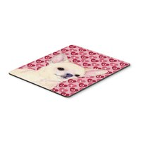 Carolines Treasures SS4472MP Chihuahua Hearts Love And Valentines Day Portrait Mouse Pad, Hot Pad Or Trivet