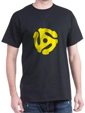 CafePress - 45 Record Adapter T Shirt - 100% Cotton T-Shirt