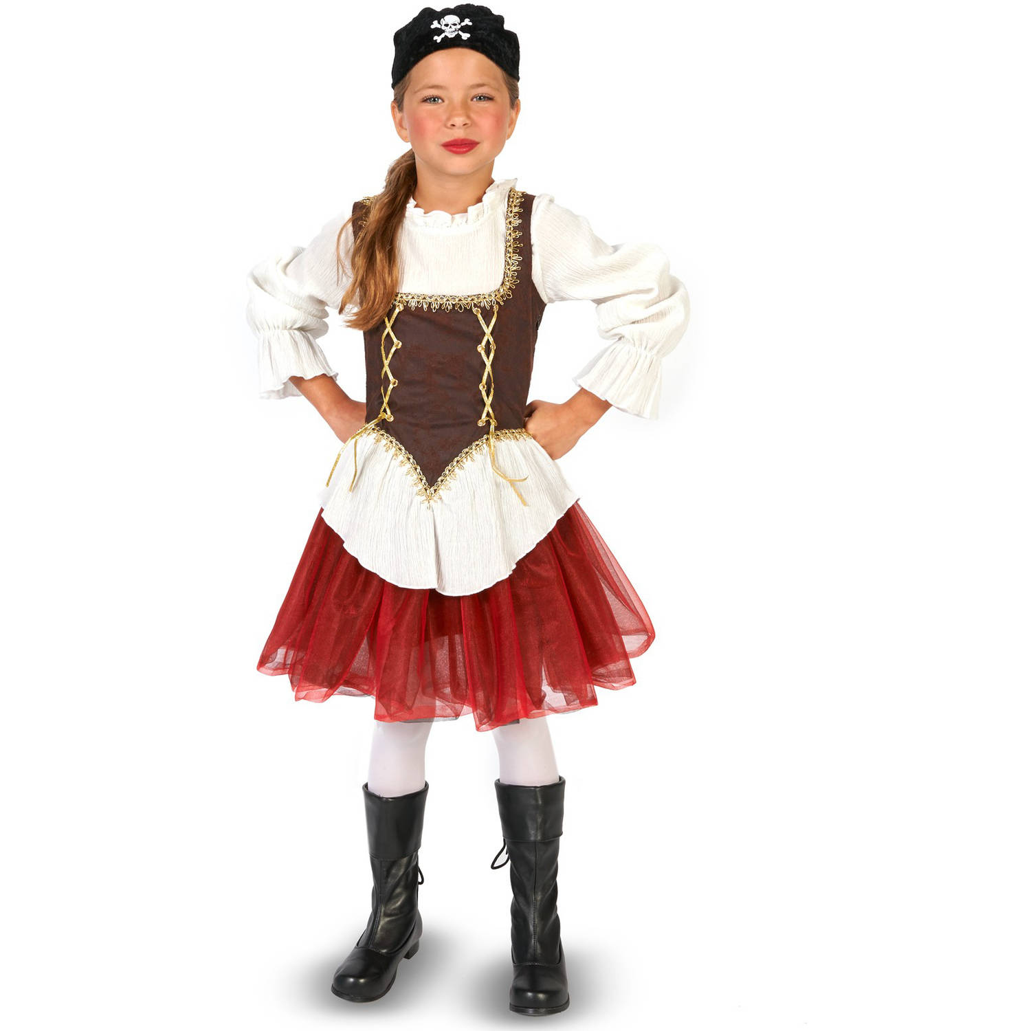 Pirate with Tutu Halloween Accessory Girl Child Halloween Costume