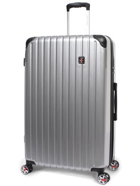 "SwissTech Exhibition 30"" Poly Carbonate Hard Side Check Luggage"