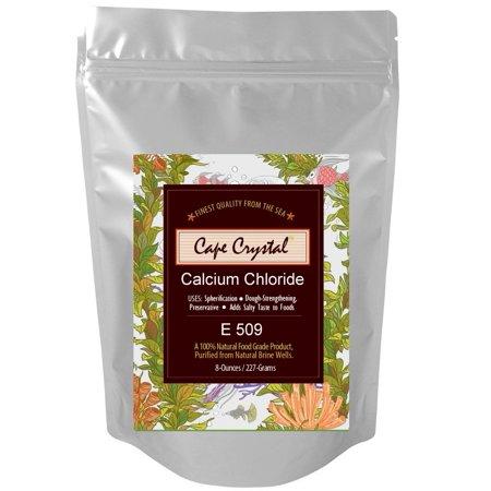 Calcium Chloride - 8-oz Cape Crystal Brands
