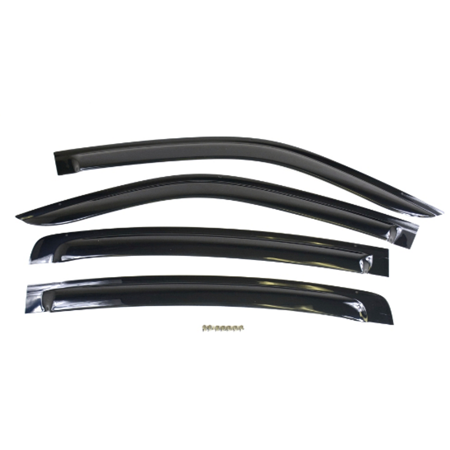 Factory New Mopar Part #82212234 Gloss Black Side Window Air Deflectors for Dodge Charger 2011-2018 (Air Deflector Part)