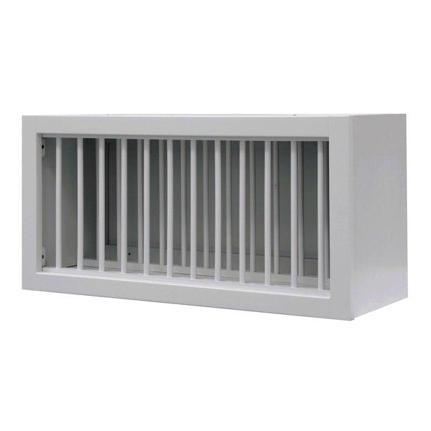 Sunny Wood Rlw3015pl A Riley 30 X 15 Plate Holder Wall Cabinet Walmart Com Walmart Com