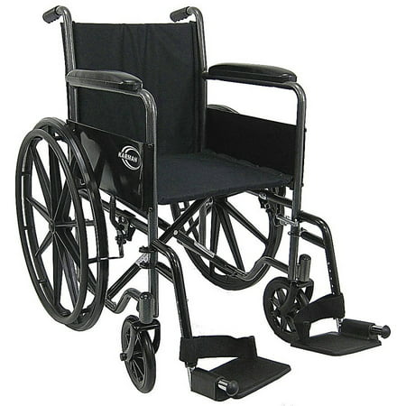 Karman LT-800T Lightweight Wheelchair with Fixed Full Armrest, 18