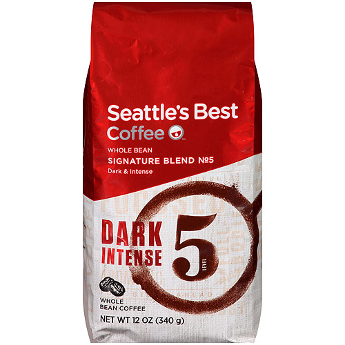 Seattle;s Best Level 5 Whole Bean Coffee, 12 oz.