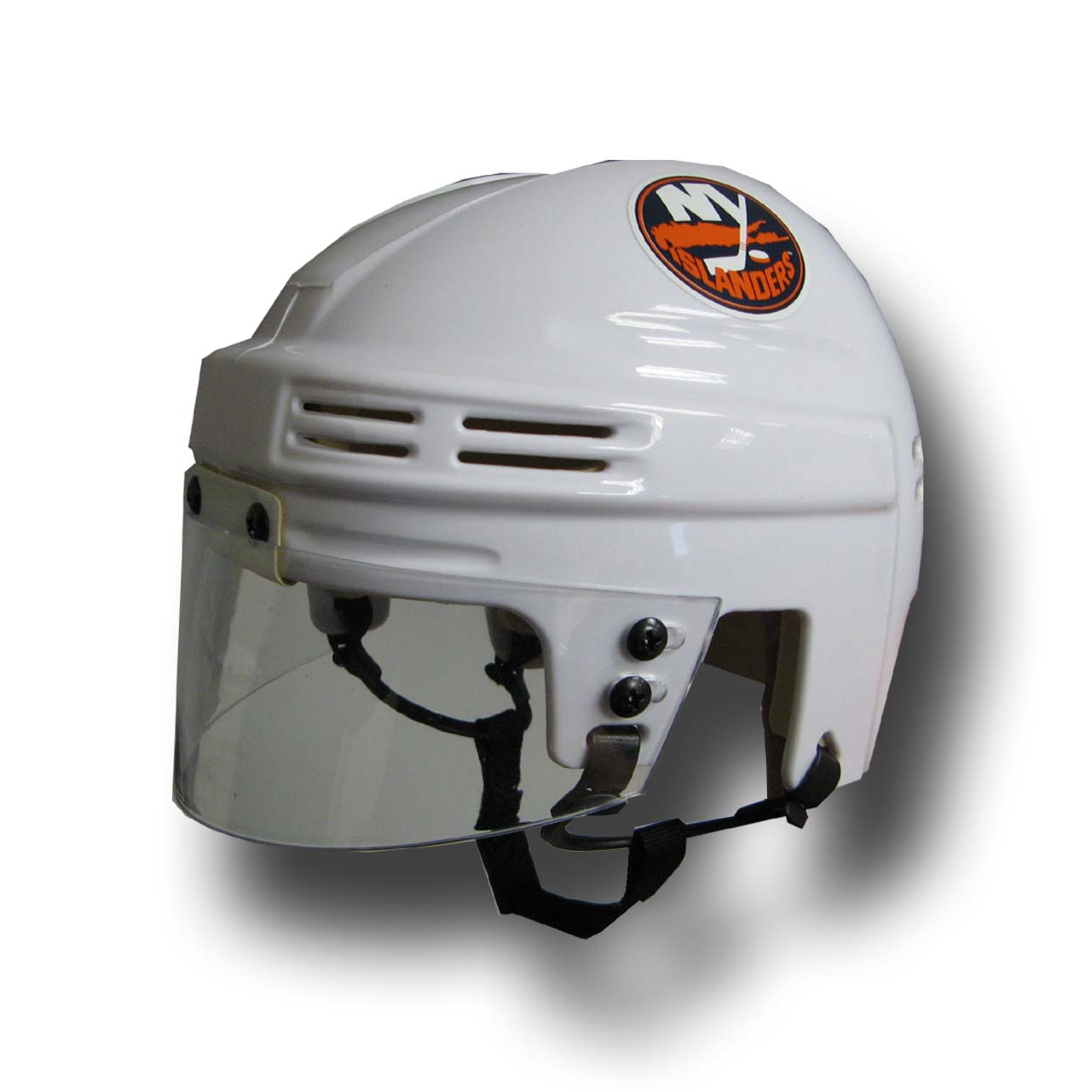 Official NHL Licensed Mini Player Helmets - Ny Isl