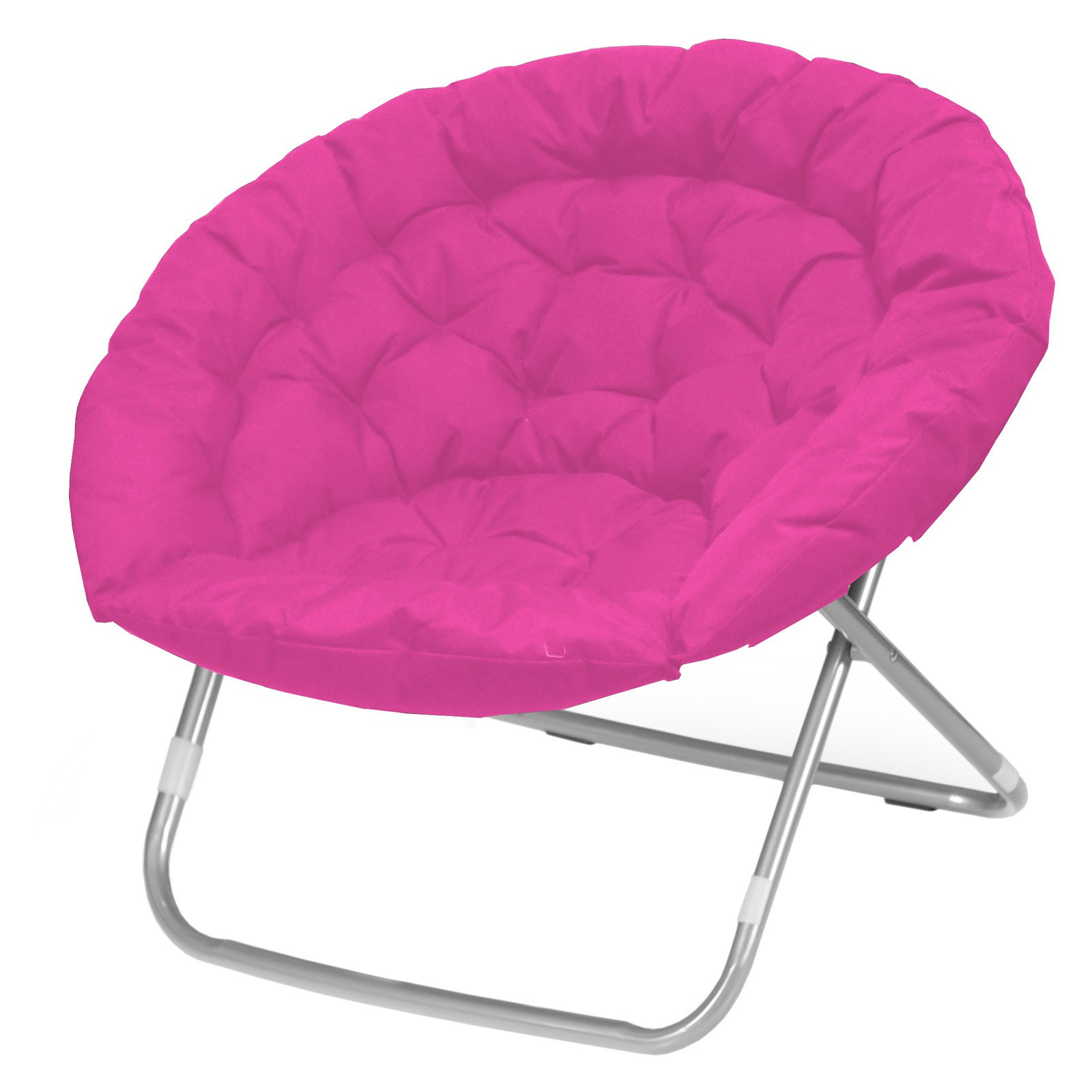 Plush Oversized Moon Chair, Available in Multiple Colors