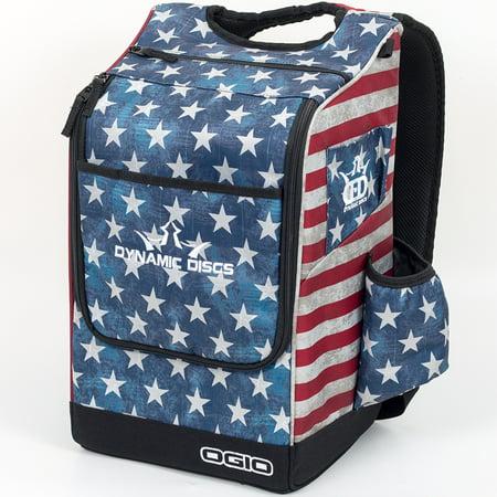 Dynamic Discs Sniper Backpack Disc Golf Bag (Stars And
