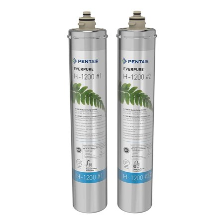 Pentair Everpure  EV928201 Dual Water Replacement Filter Cartridge (4 Pack)