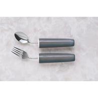 Ableware 746400108 Comfort Grip Angled Fork-Left Hand (Hand Fork)