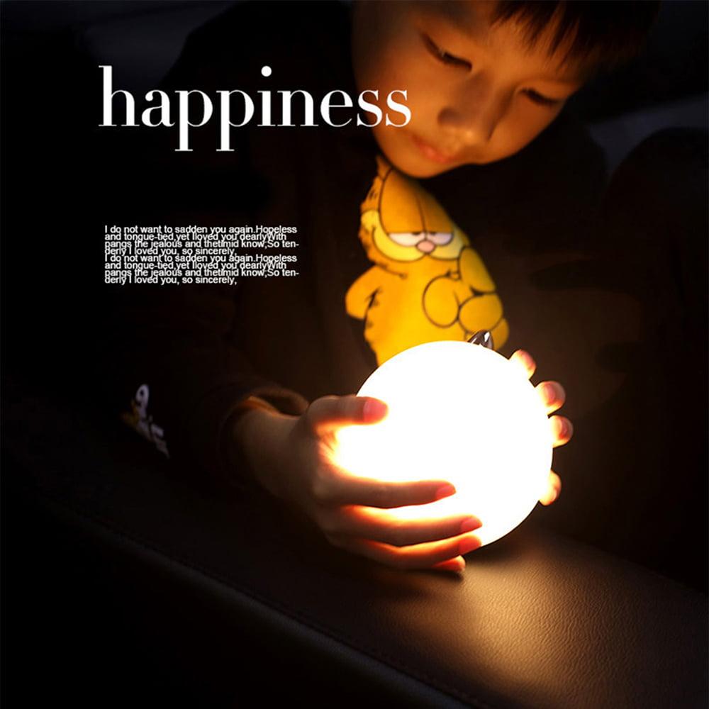 USB Rechargeable Tumbler Bird Light LED Baby Night Light Four-speed Dimming U4F1