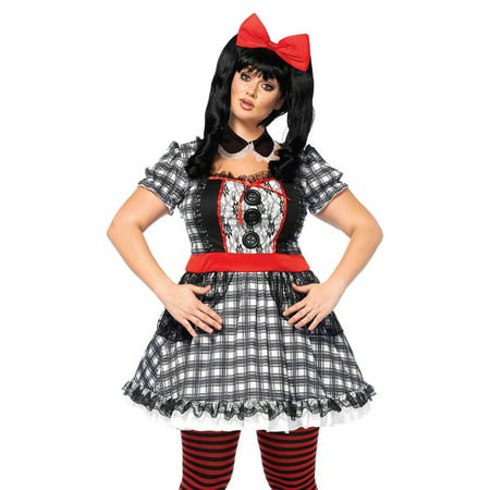 Darling Babydoll Costume - Plus Size 1X/2X - Dress Size 16-20