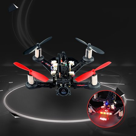 Eachine QX95S Mini FPV BNF 600TVL HD Camera Racing RC Quadcopter w/ Coreless Motor F3 Betaflight OSD Buzzer LED AIOF3PRO_Brushed Flight controller, RC Toy