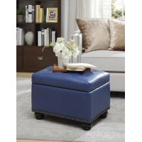 Convenience Concepts Designs4Comfort 5th Avenue Storage Ottoman, Multiple Finishes