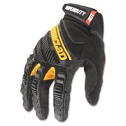 Ironclad SuperDuty Gloves, Medium, Black/Yellow, 1 Pair