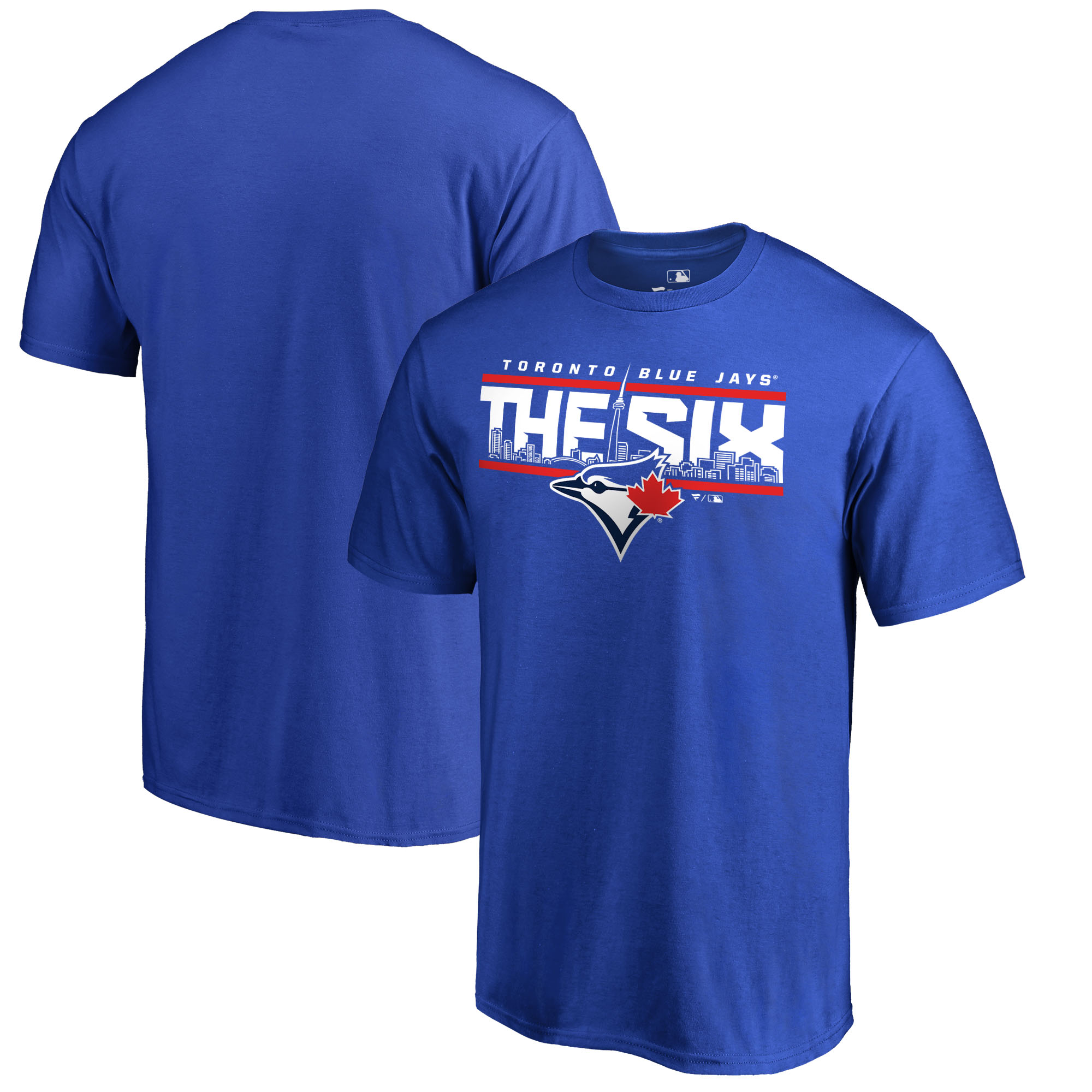 Toronto Blue Jays Fanatics Branded Hometown Collection The Six T-Shirt - Royal