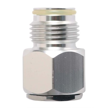 Interstate Pneumatics WRCO2-320R-38 In CO2 Disposable (3/8-24 UNF) Mini Tank to Out CO2 Paintball (G1/2-14) Tank Adapter ()