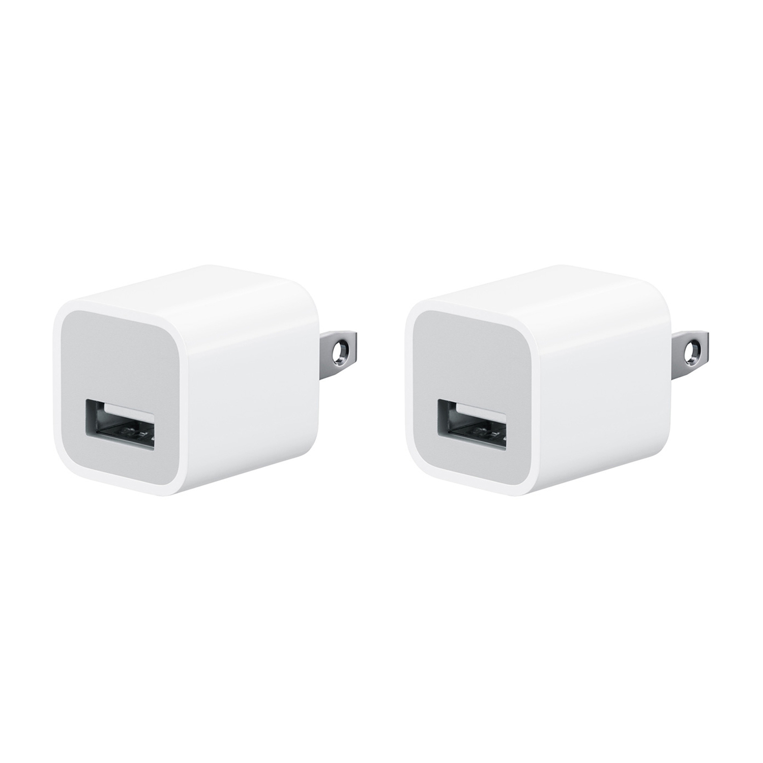 apple usb charger. 2 pack apple oem authentic iphone \u0026 ipad travel usb wall charger usb b