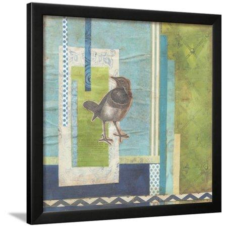 Avian Scrapbook I Framed Print Wall Art By Erica J. Vess - Walmart.com