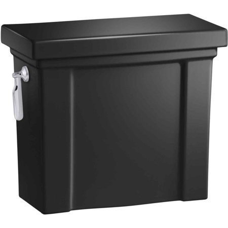Kohler K-4899-7 Toilet Tank Only 1.28 GPF Black