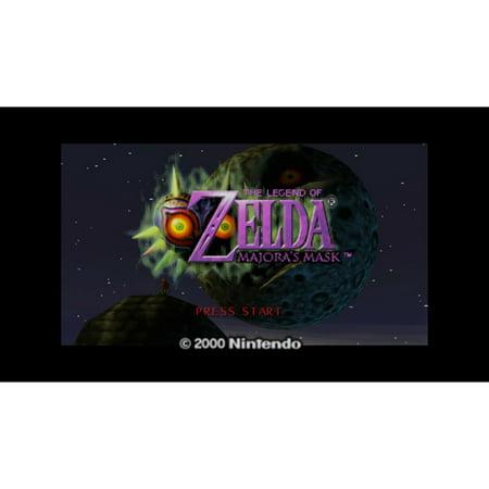 N64 The Legend of Zelda: Majora's Mask, Nintendo, WIIU, [Digital Download],