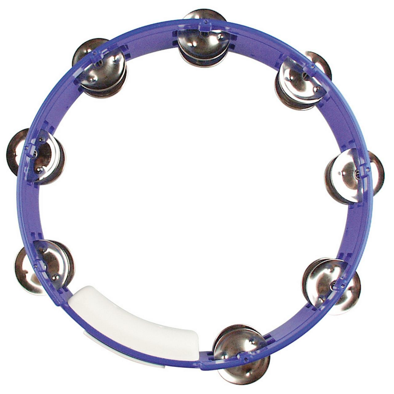 "Rhythm Tech TC4040 True Colors 10"" Tambourine Blue by Rhythm Tech"
