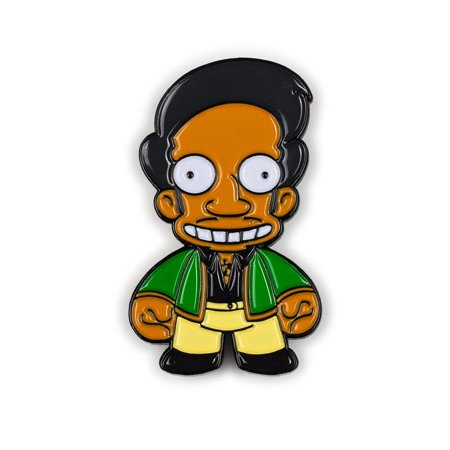 Kidrobot The Simpsons Enamel Pin Series - Apu (2/20)](The Simpsons Apu)