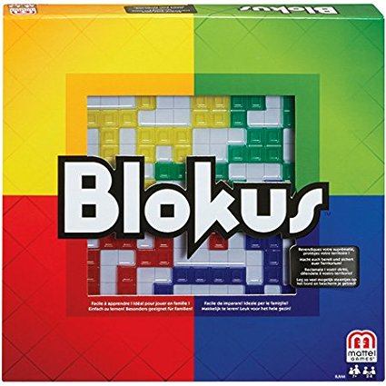 Blokus Game BJV44..., By Mattel Ship from US