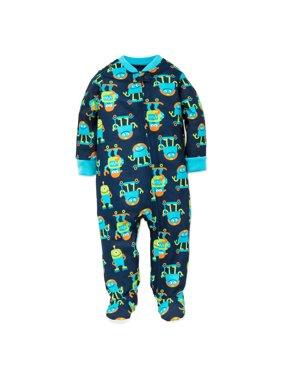 f8f3a9329a0e Baby Boys One-piece Pajamas - Walmart.com
