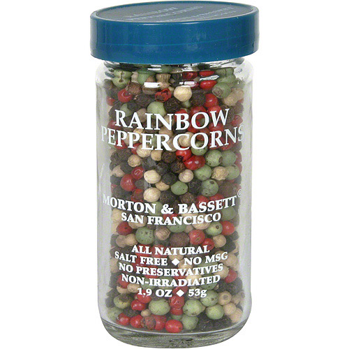 Morton & Bassett Spices Rainbow Peppercorns, 1.9 oz (Pack of 3)