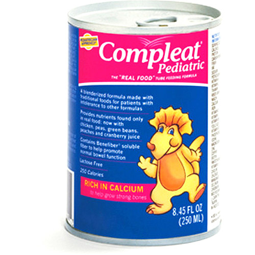 Compleat Pediatric Blended Pediatric tube-feeding formula, 24x250ml
