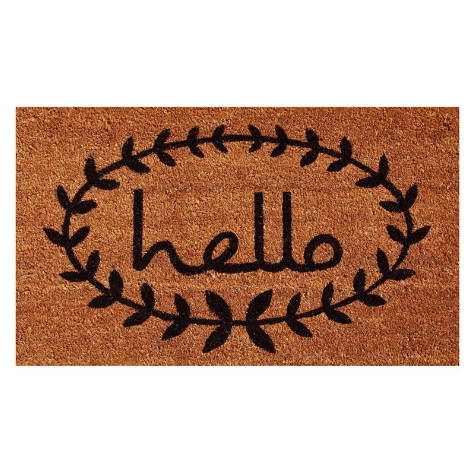 Home & More Hello Doormat by Supplier Generic