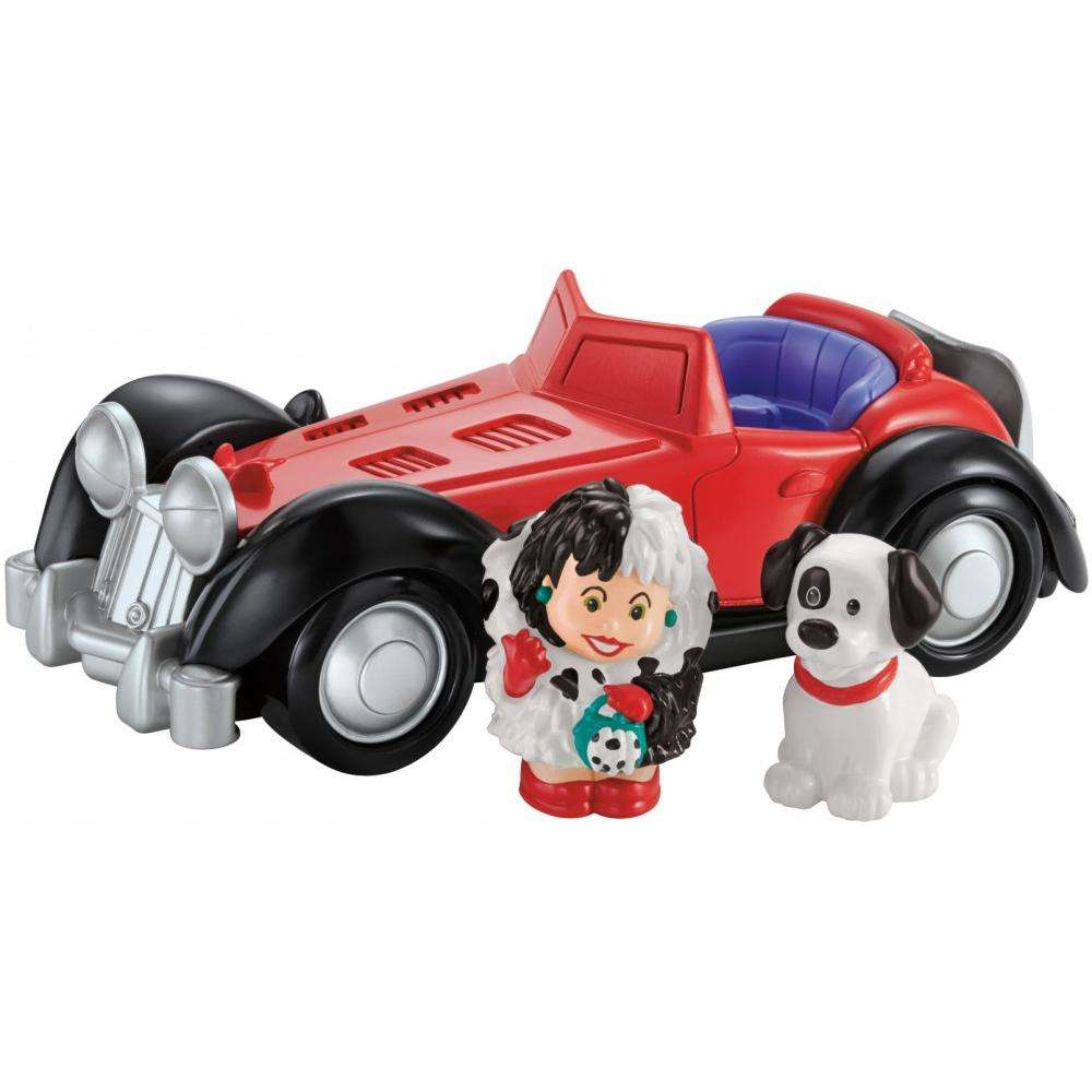Little People Disney 101 Dalmatians Cruella's Car