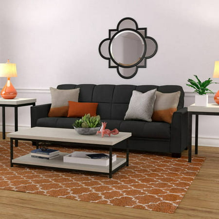 Mainstays Baja Futon Sofa Sleeper Bed, Multiple Colors