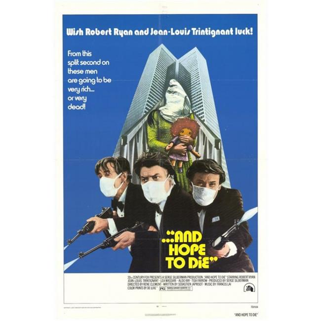Posterazzi MOVCH0711 And Hope to Die Movie Poster - 27 x 40 in. - image 1 de 1