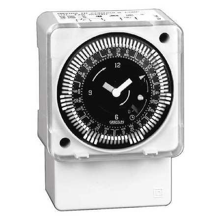 INTERMATIC MIL72ASTUZH-120 Electromechanical Timer, 24-Hour, SPDT