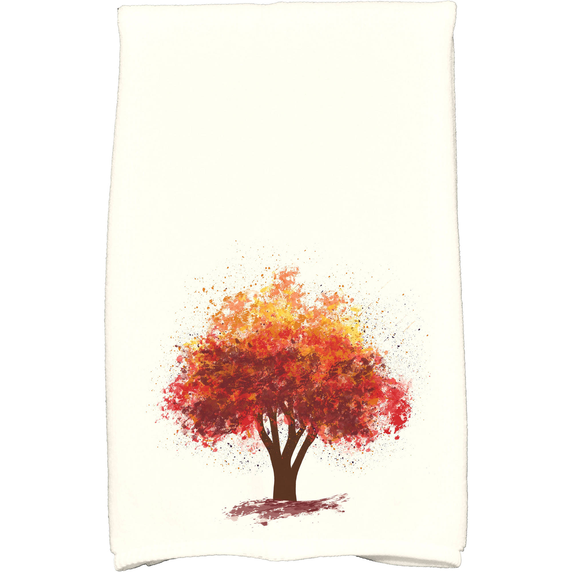 "Simply Daisy 16"" x 25"" Fall Bounty Floral Print Kitchen Towel by E By Design"